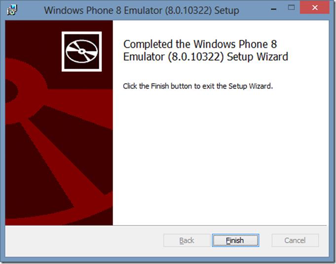 Installazione Windows Phone 8 Emulator (3/6)